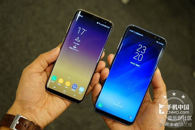 三星发布galaxy s8/s8 和note 8招募android 9.
